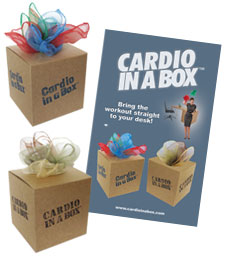Cardio in a Box Office Fitness Accessory