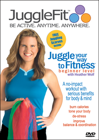 Juggle You Way to Fitness Beginner Level with Heather Wolf