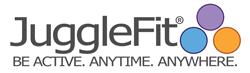 JuggleFit Logo - Juggle You Way to Fitness