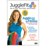Learn to Juggle with JuggleFit Beginner DVD featuring Heather Wolf