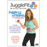 Learn to Juggle with JuggleFit Intermediate DVD featuring Heather Wolf
