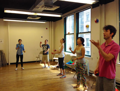 Juggling Classes New York City