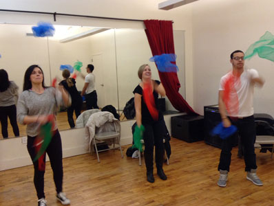 Juggling Classes in New York City